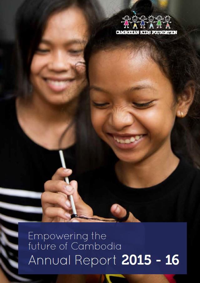 2014-15 Annual Report CKF